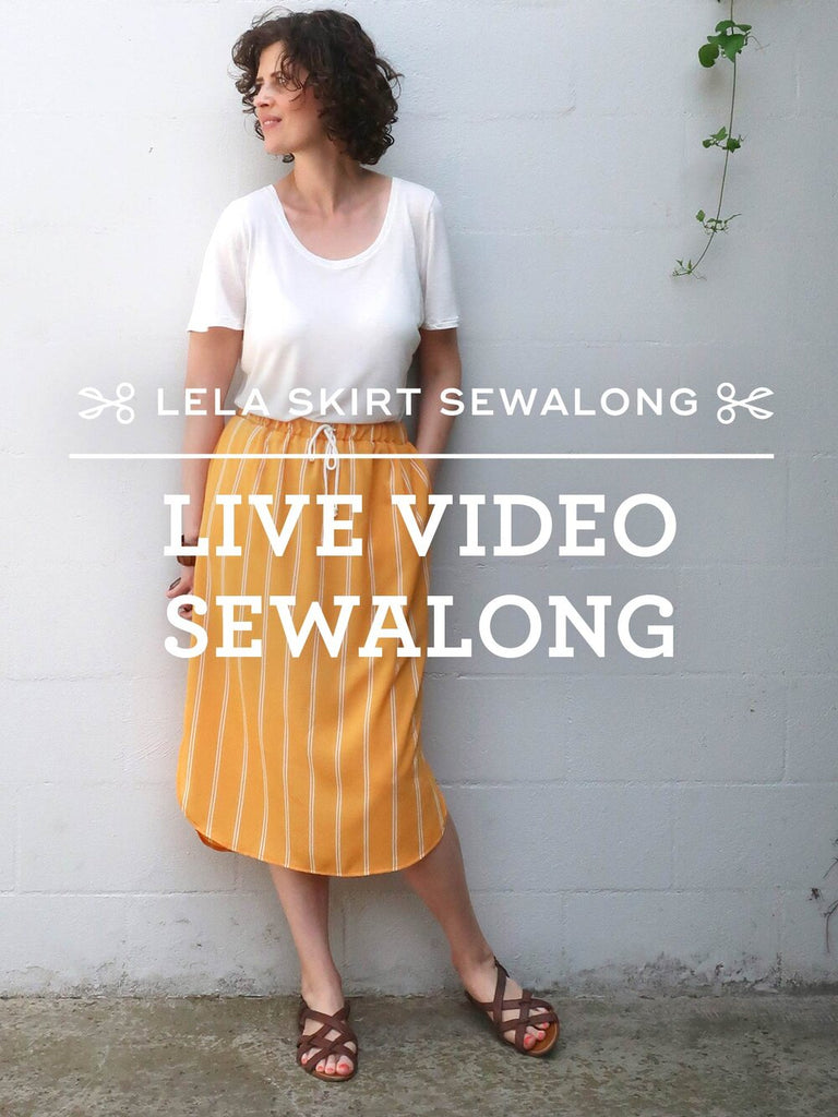 Lela Skirt Live Sewalong