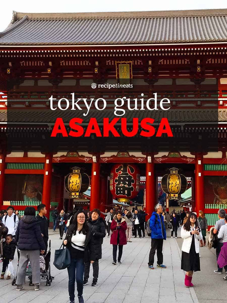 Jump to: Asakusa Highlights / What To Do / What To Eat / Getting Here / Map