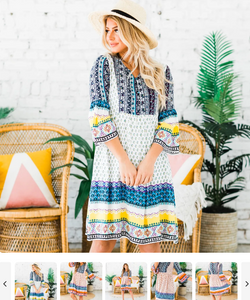 Order Here—-> Cute Sadler Boho Dress | S-XL for $36.99 (was $59.99) 2 days only.