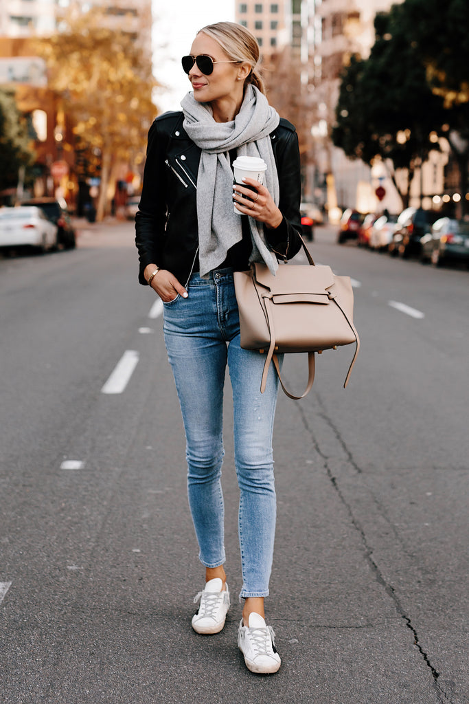 Once the temperatures drop, a scarf is as essential to your outfit as the pants you wear or the shoes on your feet (booties, please!) – you need as much warmth as you can get (I'm a Chicago girl, I get it.)
