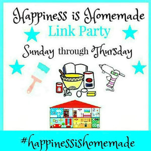 Happiness Is Homemade Link Party #290
