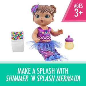 Baby Alive Shimmer N Splash Mermaid Only $11.97!