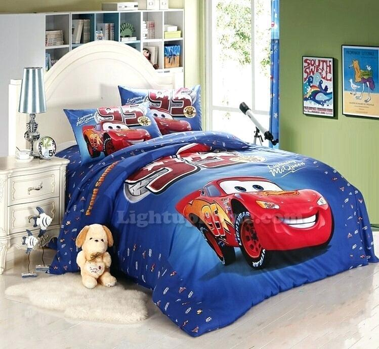 Good Looking Cars Twin Bed Set