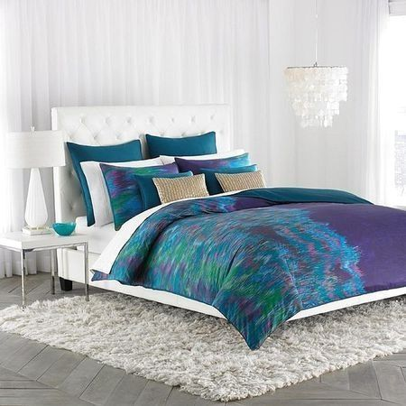 Fancy Teal Green Bedding