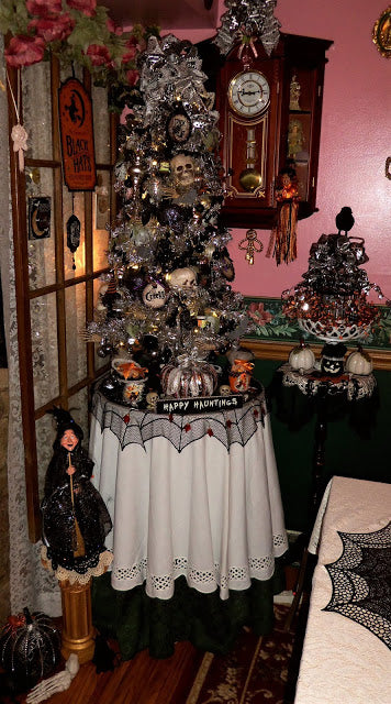 Halloween Tree in the Dining Room, 2019