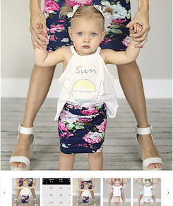 Order Here—> Cute Mommy and Me Spring Floral Skirts for $13.99 (was $22.99) 3 days only.