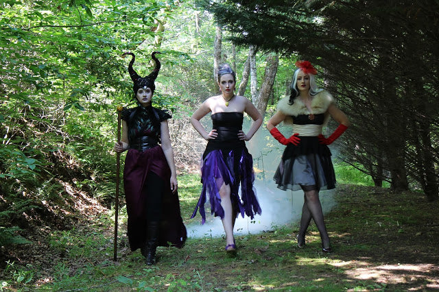Chillin' Like a Villain: Disney Villains Group Halloween Costume