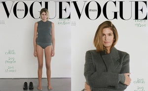 Kaia Gerber Follows In Mother's Supermodel Footsteps On Vogue Italia's Cover