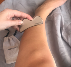 Medical grade stainless steel gua sha how to