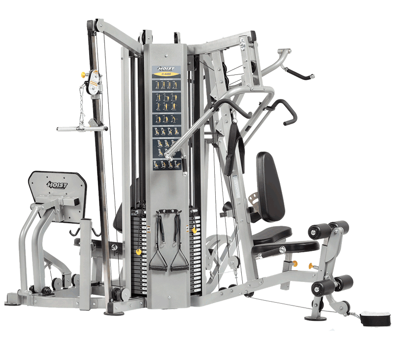 Hoist Multi Gym Mi7 Smith Ensemble: CMJ-6000-1 4 Station