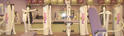 a lineup of HOIST Fitness ROC-IT Selectorized Gym equipment