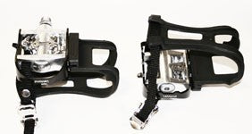 SHIMANO PEDALS, DUAL SIDED