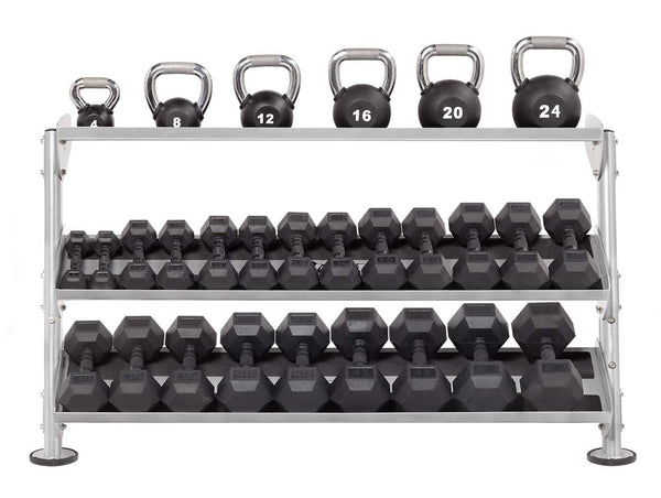 "HF-5461-OPT-60 60"" Dumbbell Rack With OPT (3rd-Tier)"
