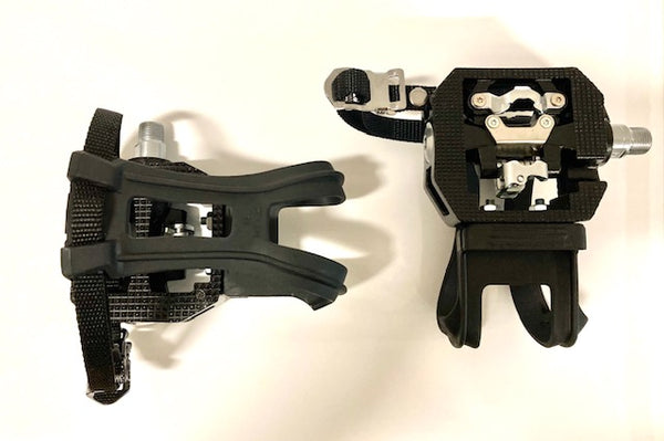 NON-SHIMANO PEDALS, DUAL SIDED