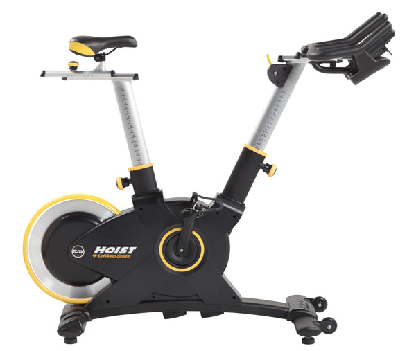HOIST Fitness LeMond Series Elite Cycle Bike with extended seat and handle