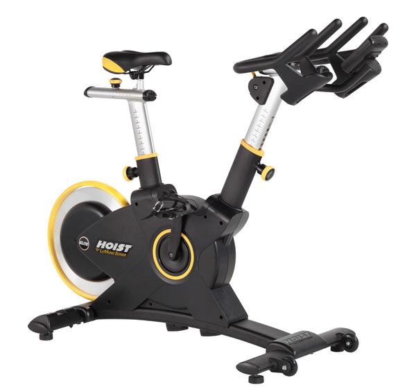 Angle shot of HOIST Fitness LeMond Series Elite Cycle Bike