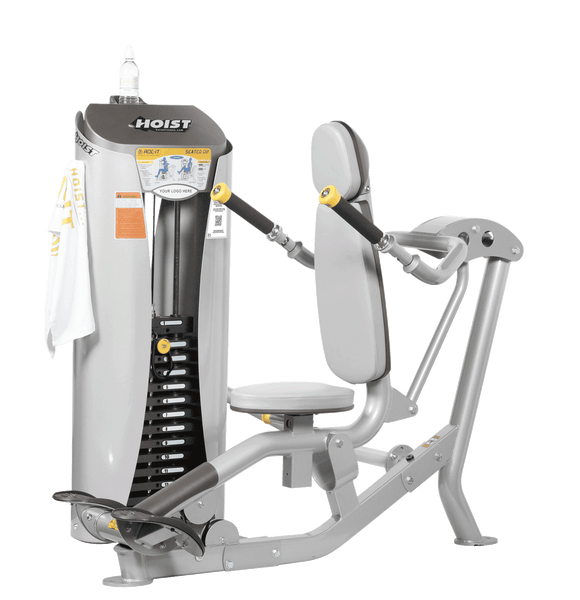 HOIST Fitness ROC-IT Selectorized Seated Dip gym equipment