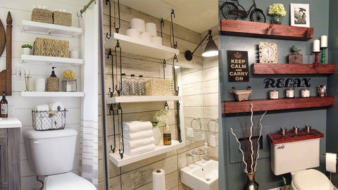 Brilliant Over the Toilet Storage Ideas