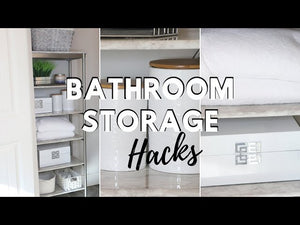 Hi loves! Sharing with you some simple easy bathroom organization and storage hacks! Storage solutions are always a must for bathrooms and since I do not ...