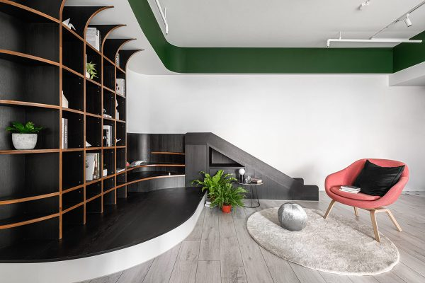 Exploring Green Accent Interiors