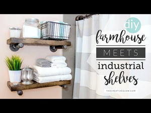 This project is easy to do and looks stunning in any industrial and/or farmhouse decor! ------------------------------------------------------------------------------- *If you are a ...