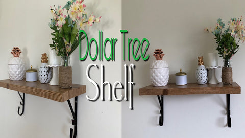 Hi ya'll! Since you liked my last Dollar Tree DIY Corner shelf, today Im making a DIY SHELF/Bookshelf