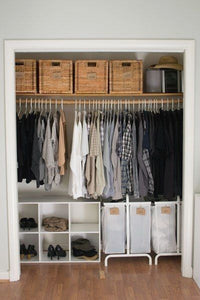 Layout Clothes Organizer Ideas