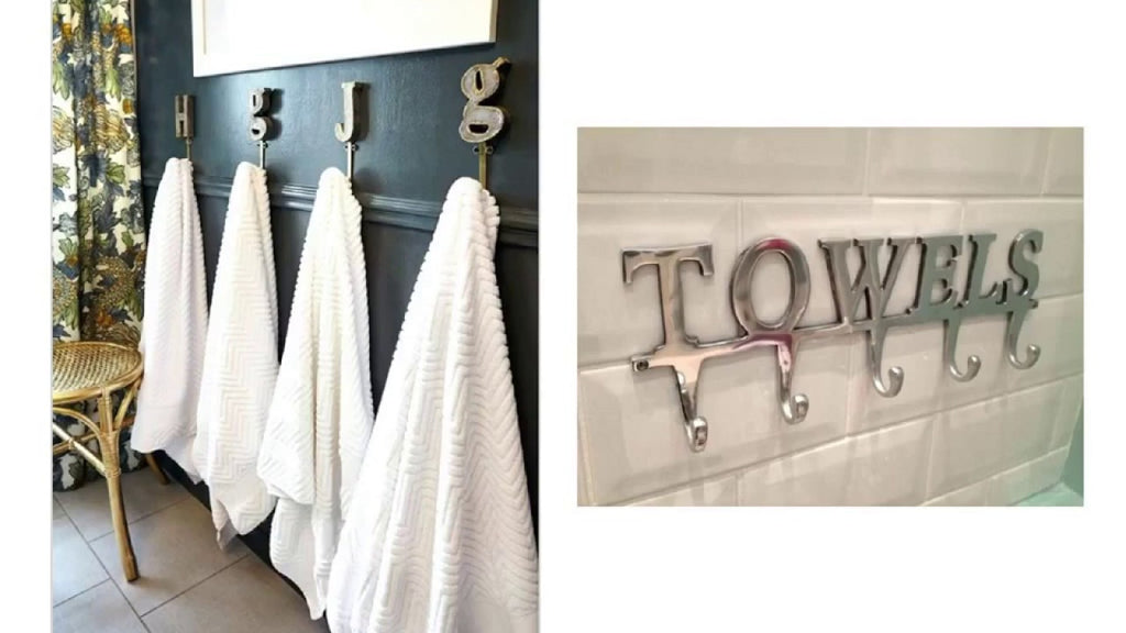 This Top Decor video has title Decorative Bathroom Towel Hooks with label Towel Hooks, Decorative Bathroom Hooks.