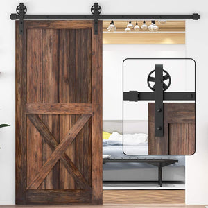 Add Privacy and a New Design Element To Your Space With a Barn Door Kit