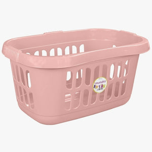 Heavenly Pink Laundry Basket