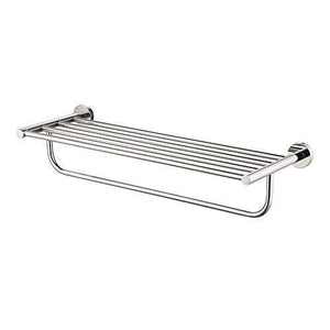 Satopics Towel Rack, with Towel Bar Polished Bathroom Shelf Wall Mount