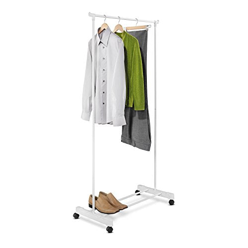 Honey-Can-Do Portable Garment Rack, White
