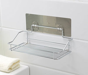 Catch 101 All Purpose Wall Caddy Wire Shelf Organizer Storage - Great Extra Storage for Kitchen, Bathroom, Garage, Laundry Room