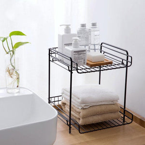 Folding Bathroom Rack Shelves