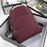 Stylish Backpack Dark Red