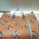 Work Tote Leather Bag