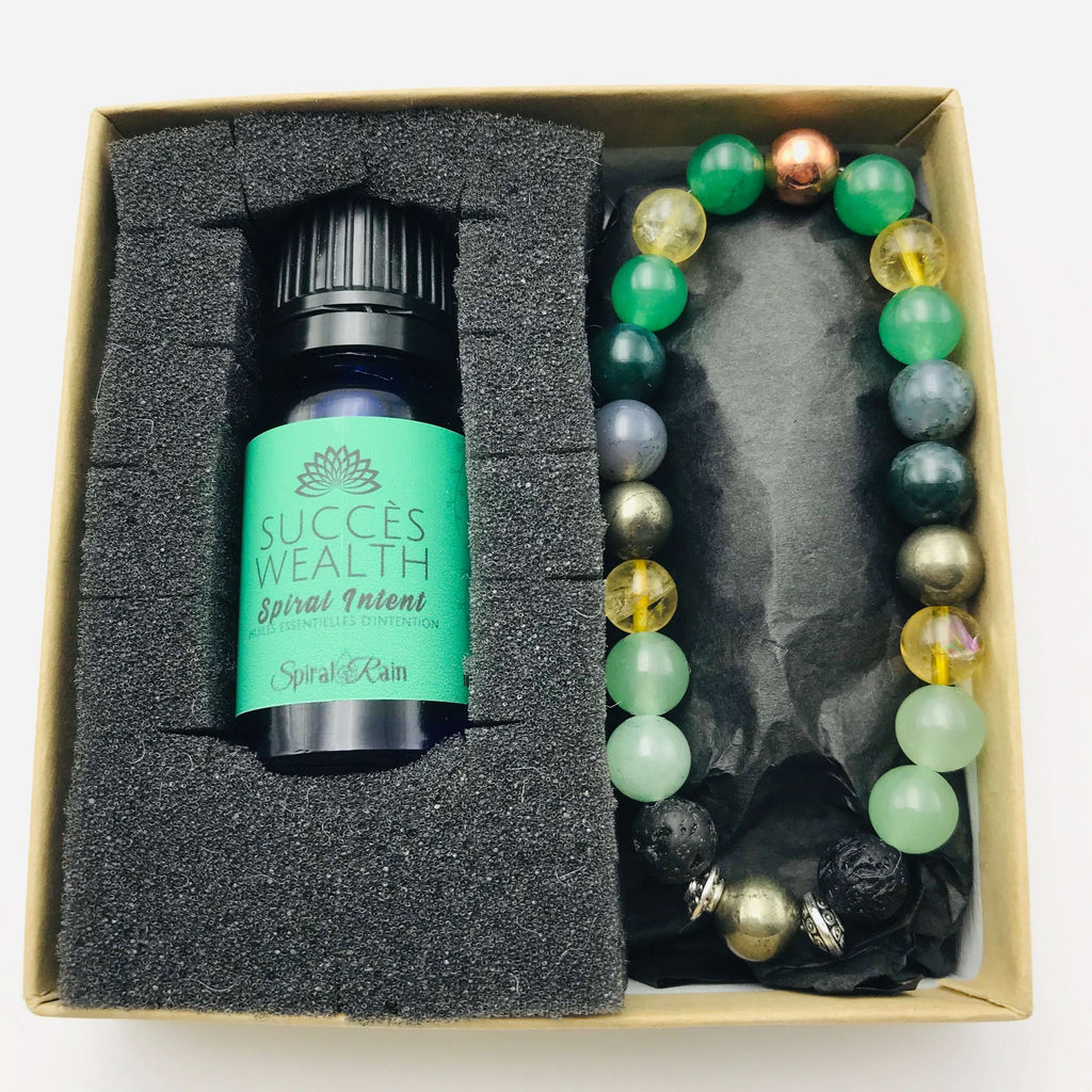 Wealth Bracelet With Diffuser Oil Blend 10 ml