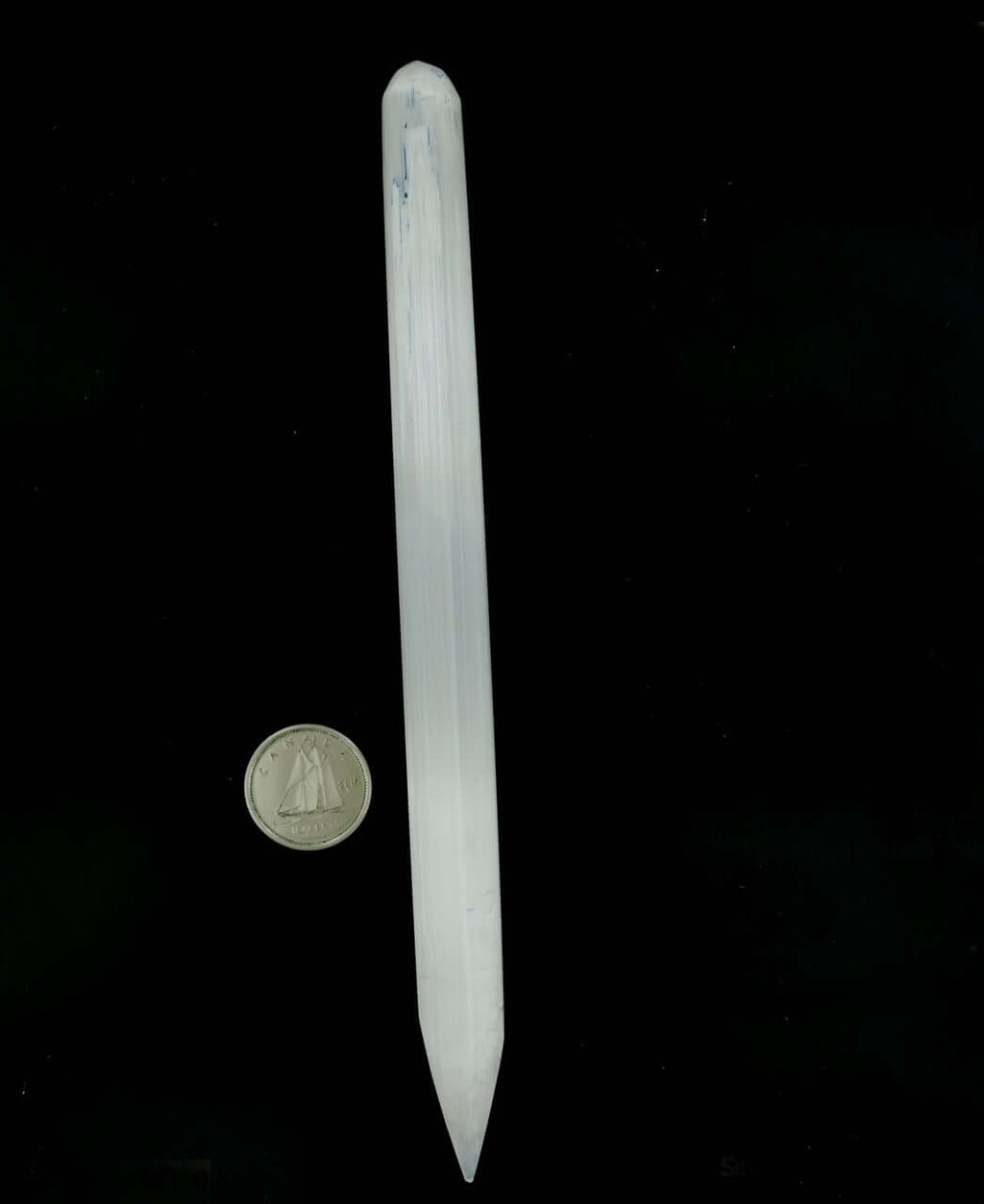 Selenite Wand Thin 1/2''