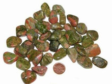 Load image into Gallery viewer, Unakite Tumbled