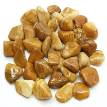 Load image into Gallery viewer, Yellow jasper Tumbled