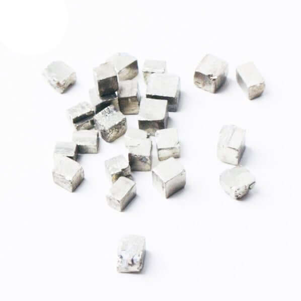 Pyrite cubes tiny