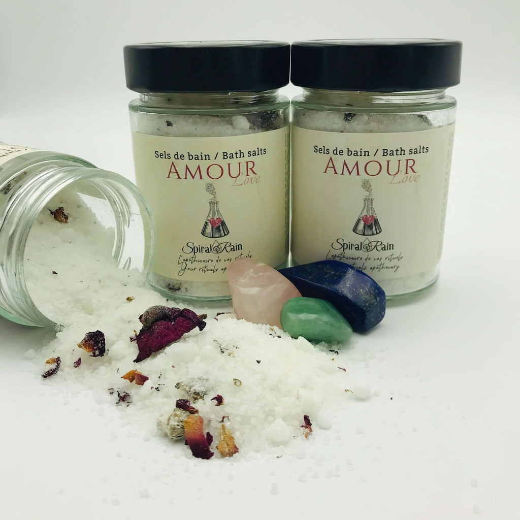 Sels de bain Amour / Love bath salts