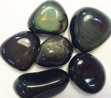 Load image into Gallery viewer, Rainbow Obsidian Tumbled