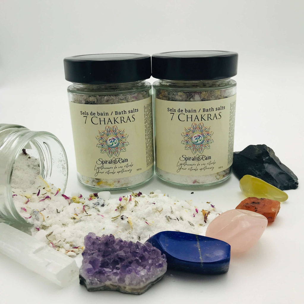 7 Chakras bath salts
