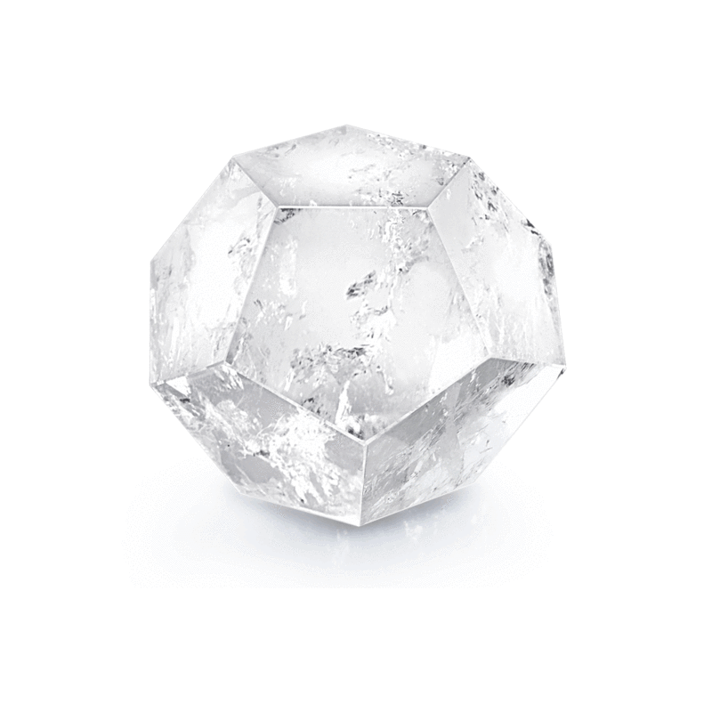 Clear Quartz Dodecahedron