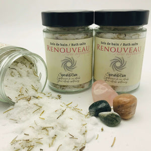 Sels de bain Renouveau / New Beginnings bath salts