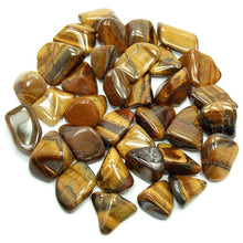 Load image into Gallery viewer, Golden Tiger Eye Tumbled