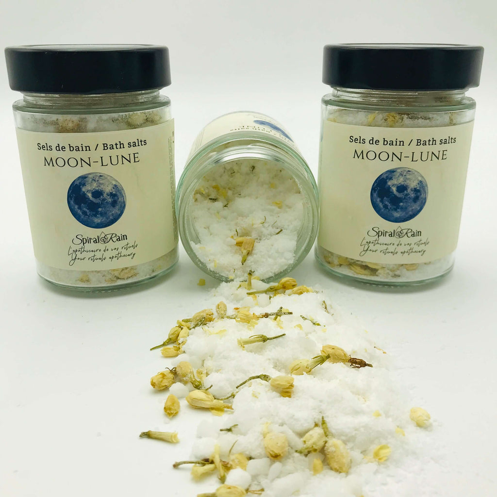 Sels de bain Lune / Moon bath salts