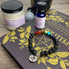 Load image into Gallery viewer, 7 chakras bracelet & oil set