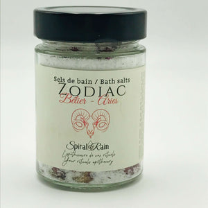 Aries bath salts
